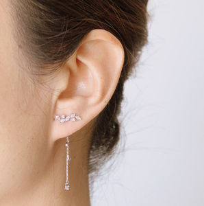 Two Way Earrings - rose gold jewellery