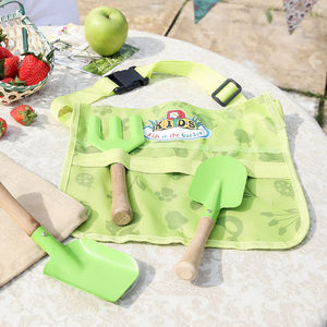Children's Play In The Garden Tool Belt With Tools
