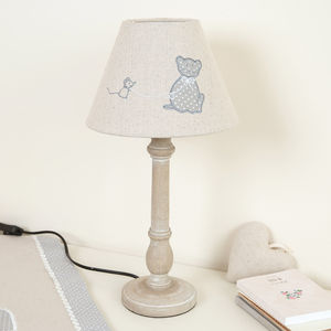 Cat And Mouse Table Lamp - table lamps