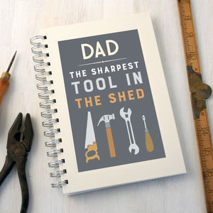 Personalised Sharpest Tool Diy Notebook - DIY