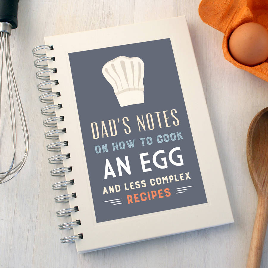 Personalised Chef's Hat Notebook