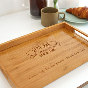 Personalised Best Dad Tray - view all father's day gifts