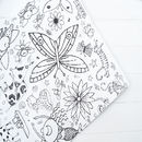 Colour In Giant Poster Tablecloth Teatime