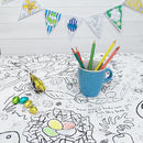 Colour-in Tablecloth - Easter