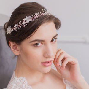Floral Wedding Hair Vine - bridal hairpieces