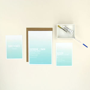 Monet Wedding Stationery Sample Pack - new in home
