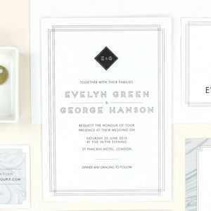 Evelyn Wedding Stationery Sample Pack - new in home