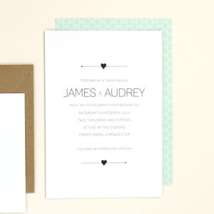 Audrey Wedding Stationery Sample Pack - whatsnew