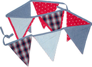 Boys Bunting - children's parties