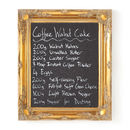 Ornate Gold Framed Blackboard Chalkboard