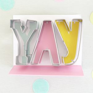 Yay Cookie Cutter Set - view all sale items