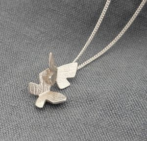 Flutterby Charm Necklace