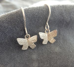 Flutterby Drop Earrings - earrings