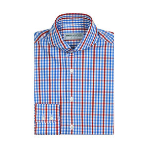 Mens Slim Fit Extreme Cutaway Shirt - shirts