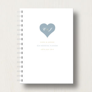 Personalised Wedding Planner Journal - engagement gifts