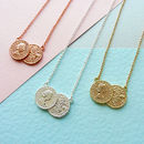 Double Sixpence Necklace