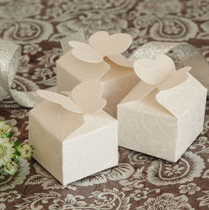 10 Butterfly Favour Boxes