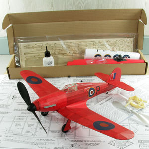 Vintage Traditional Balsa Model Aircraft Kit - decorative accessories