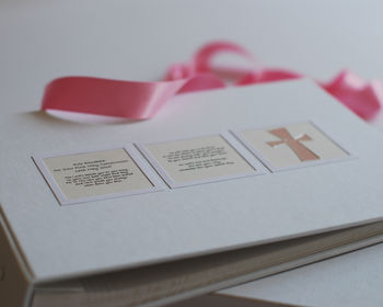 First Holy Communion Guest Book and Photo Album
