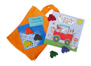 Tractor Colouring Activity Set - toys & games