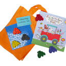 Tractor Colouring Activity Set
