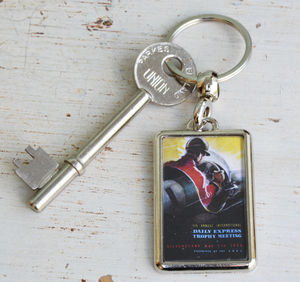 Silverstone Daily Express Trophy 1955 Keyring