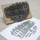 Personalised Wedding Venue Stamp from Letterfest