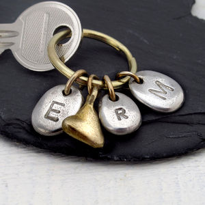 Personalised Family Keyring - men's accessories