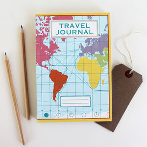 Travel Journal World Map - toys & games
