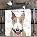 English Bull Terrier Personalised Dog Placemat