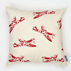 'Spitfires' Aeroplane Cushion