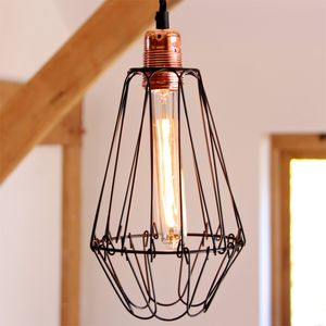 Cage Wire Lamp Shade