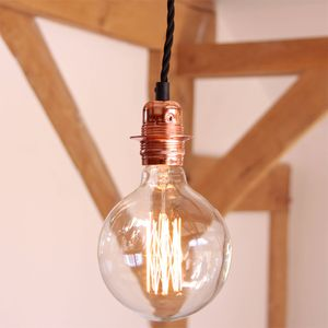 Twisted Cord Pendant Light Fitting - ceiling lights
