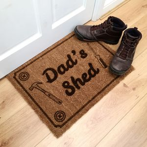 Personalised Man Cave Doormat