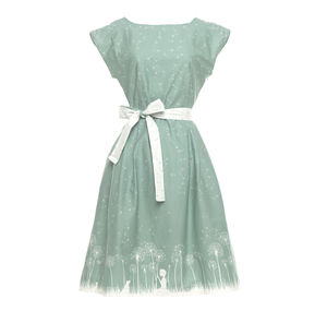 Beatrice Make A Wish Capped Sleeves Dress - women's fashion
