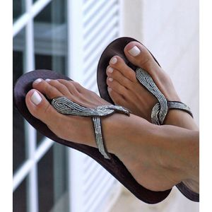 Aspiga Beaded Snake Sandals - summer footwear