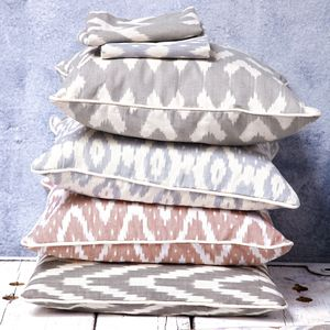Ikat Cushion Cover - home sale