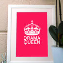 'Drama Queen' Poster