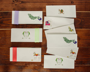 Set Of 10 Gift Envelopes