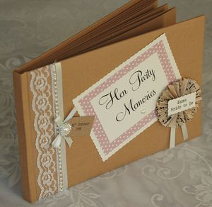 Hen Party Memory Scrapbook