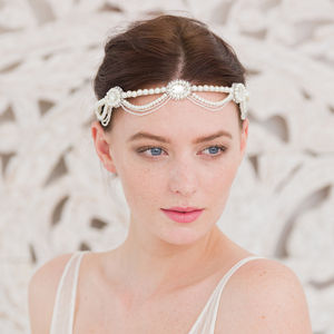 Deco Wedding Headband
