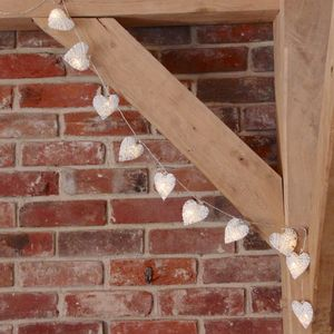 String Heart Light Garland