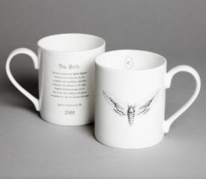 Moth Mug - mugs