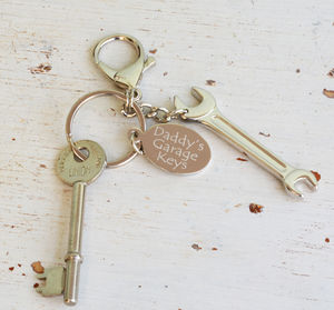 Personalised Spanner Keyring - keyrings