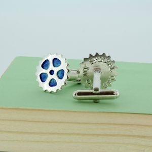 Personalised Enamel Bike Cufflinks