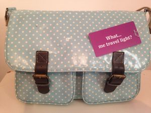 'What, Me Travel Light' Luggage Tag - bags & cases