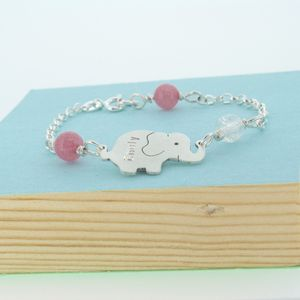 Personalised Baby Christening Bracelet