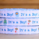 Baby Boy Ribbon