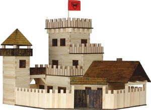 Build Your Own Wooden Castle - craft & creative gifts for children