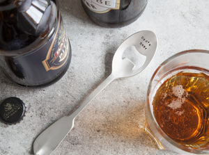 Personalised Spoon Bottle Opener - new home gifts